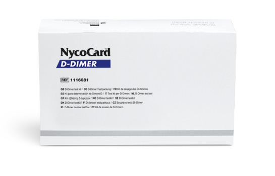 NycoCard - D-Dimer